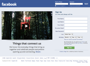 Facebook account hack protection